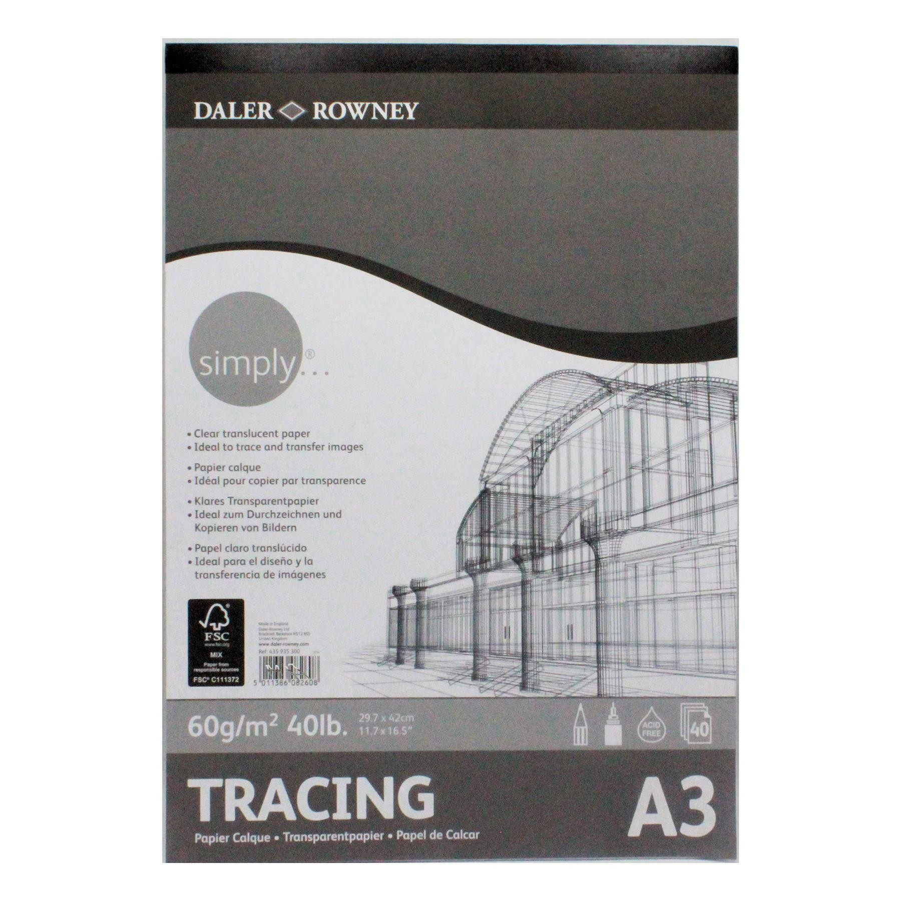 Daler rowney tracing paper