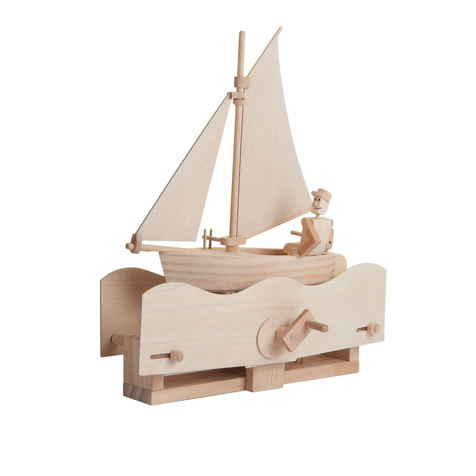 Timberkits Salty Sailor wooden kit