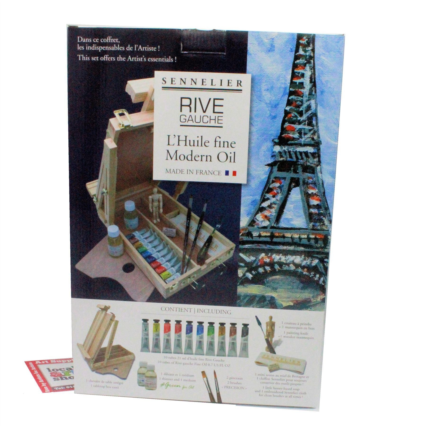 rive gauche sennelier oil colour paint set