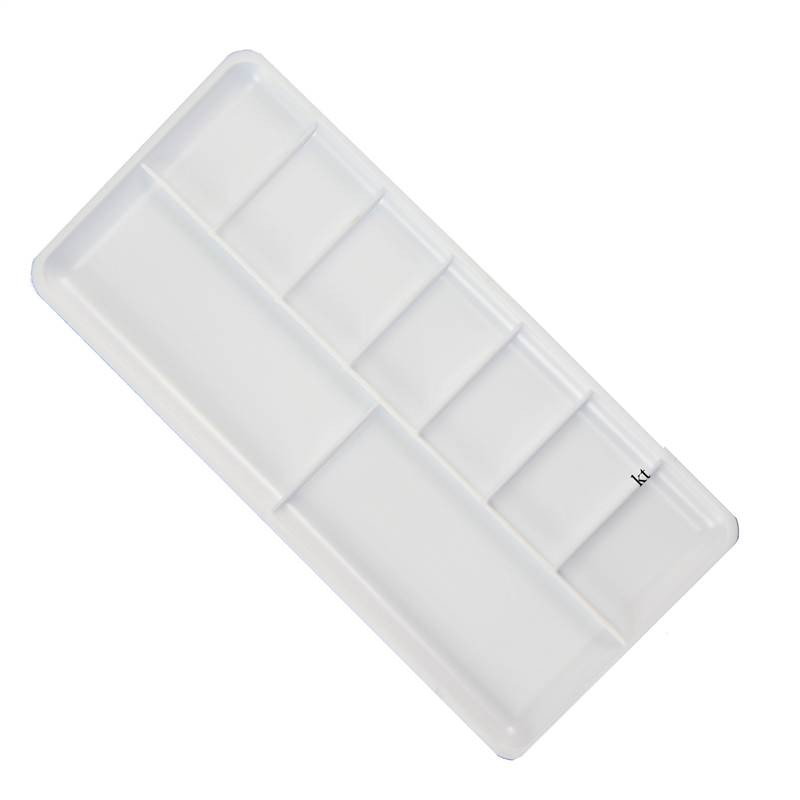 royal & langnickel rectangle plastic paint palette