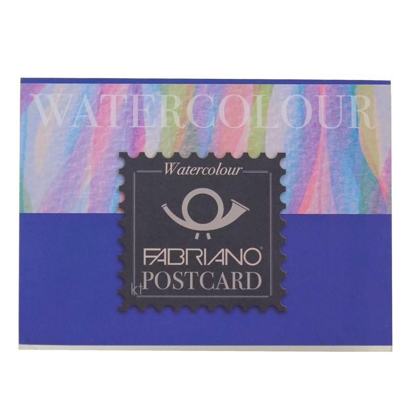 Fabriano Watercolour Postcard Pad - 20 Postcards - 10.5x14.8cm