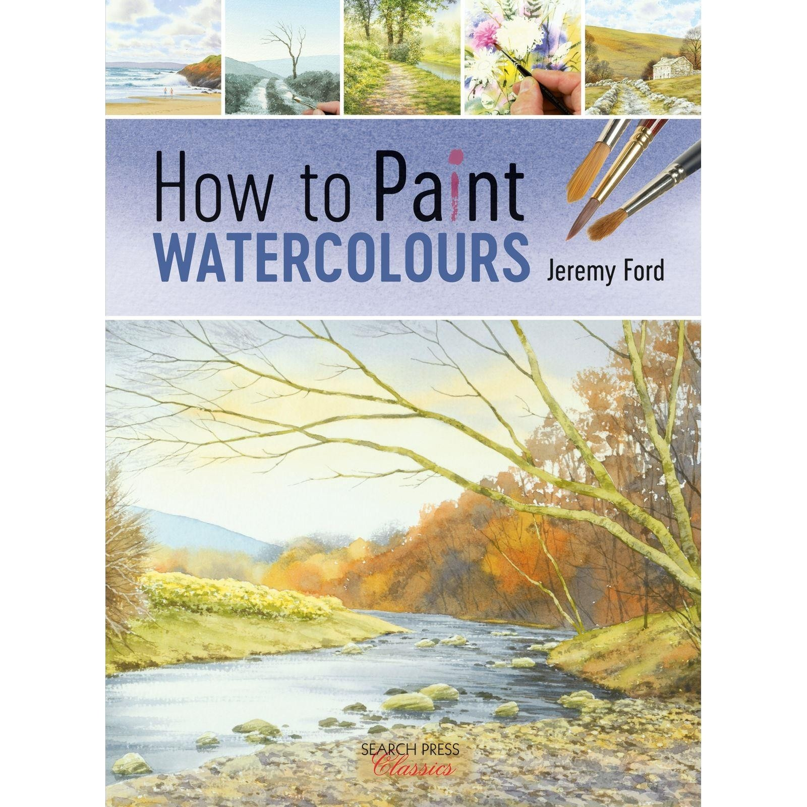 How to paint watercolours by Jeremy Ford