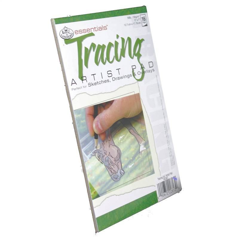 "Royal and Langnickel essentials tracing paper small 5 x 7"" pad"