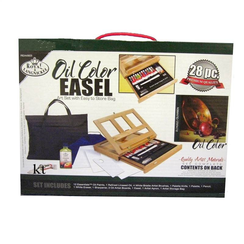 Royal and Langnickel oil colour paint easel set rea4903