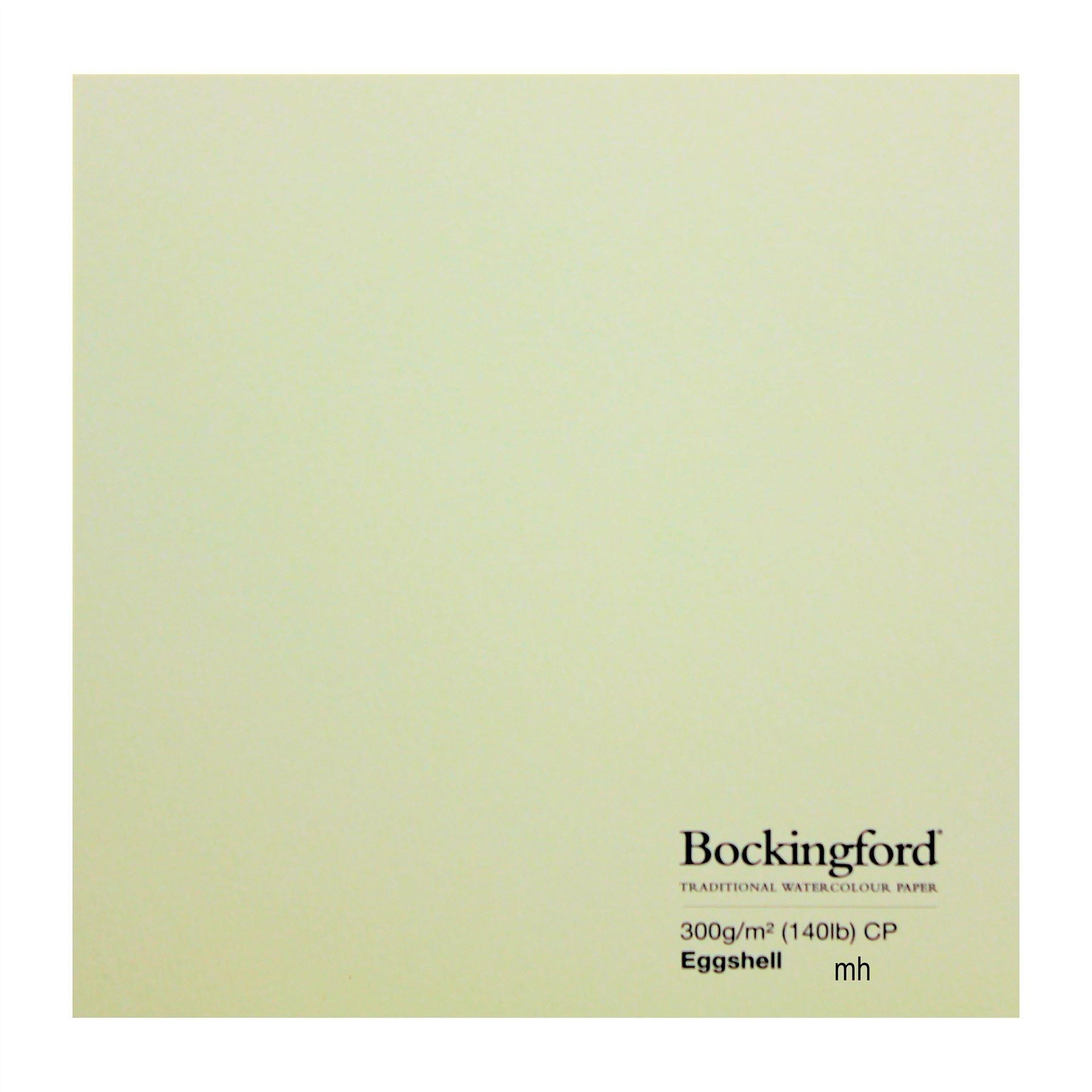 """Bockingford watercolour paper Eggshell 4 sheets of 15"""" x 11"""" cold Press 300gsm (140lbs)"""