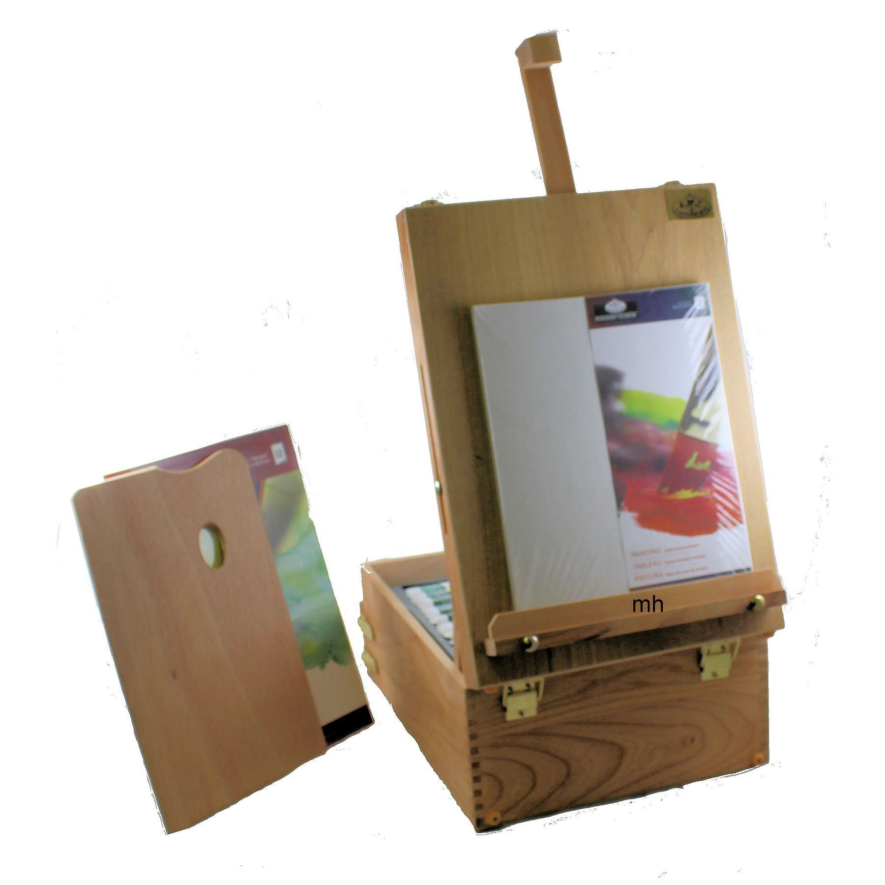 df4db4e579f4c Royal & Langnickel Artists Mixed Media Wooden Easel Set - 104 Pieces,  REA6000