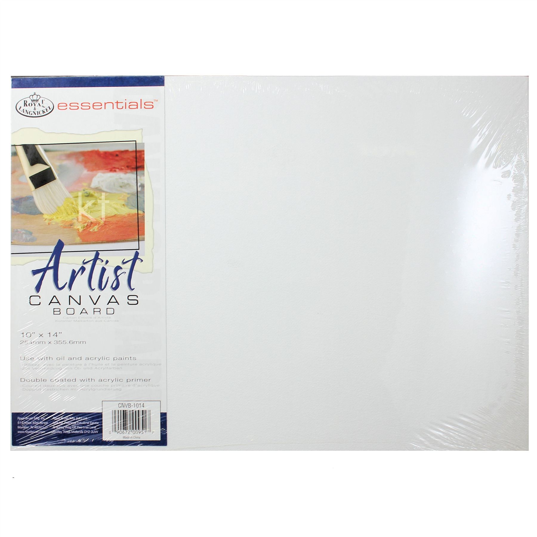 "Royal Essentials Artist Canvas Board 10"" x 14"""