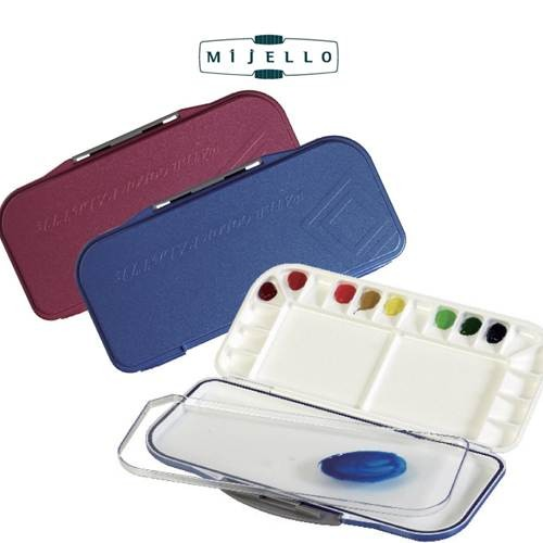 Mijello fusion watercolour palette blue