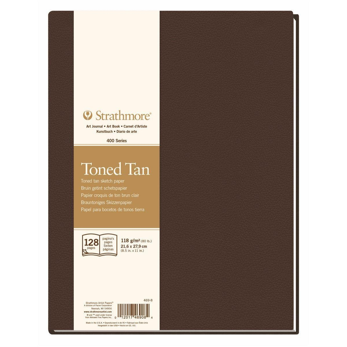 Strathmore 400 series Artist Journal tan tone paper pad