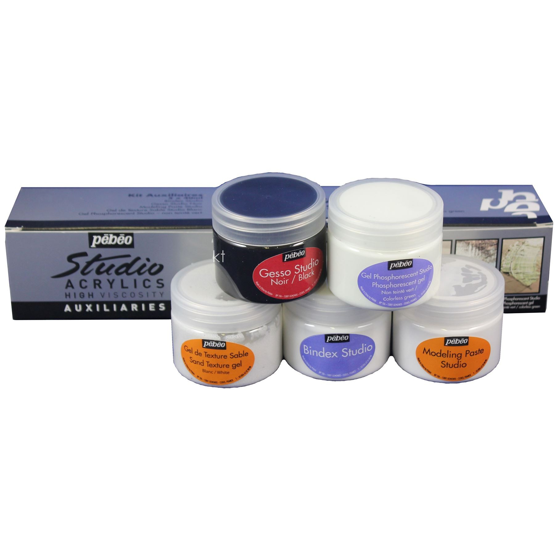 Pebeo Auxiliaries Studio Acrylics 5 x 40ml Set