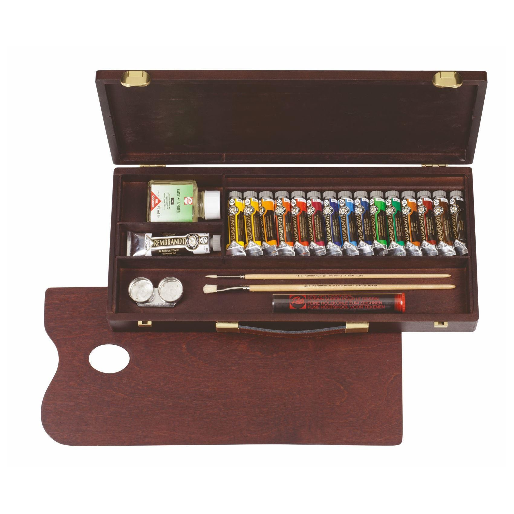 Royal Talens Rembrandt Traditional oil colour box 15 x 15ml