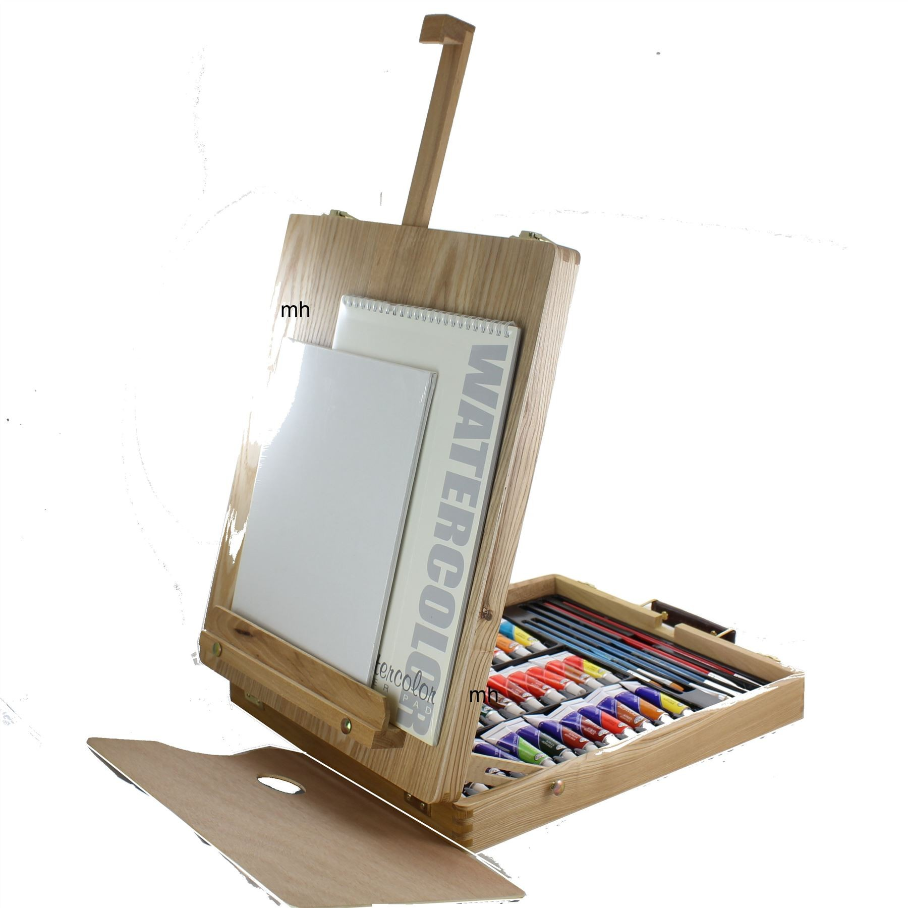 rea6048 artists easel set all media