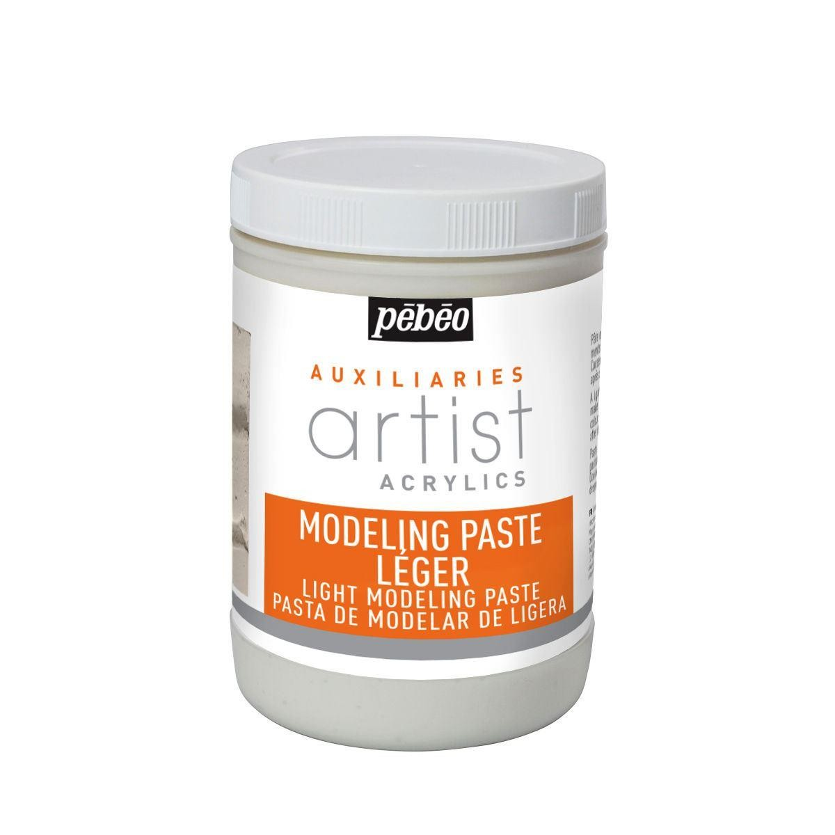 Pebeo artists acrylics light moulding paste 1 litre
