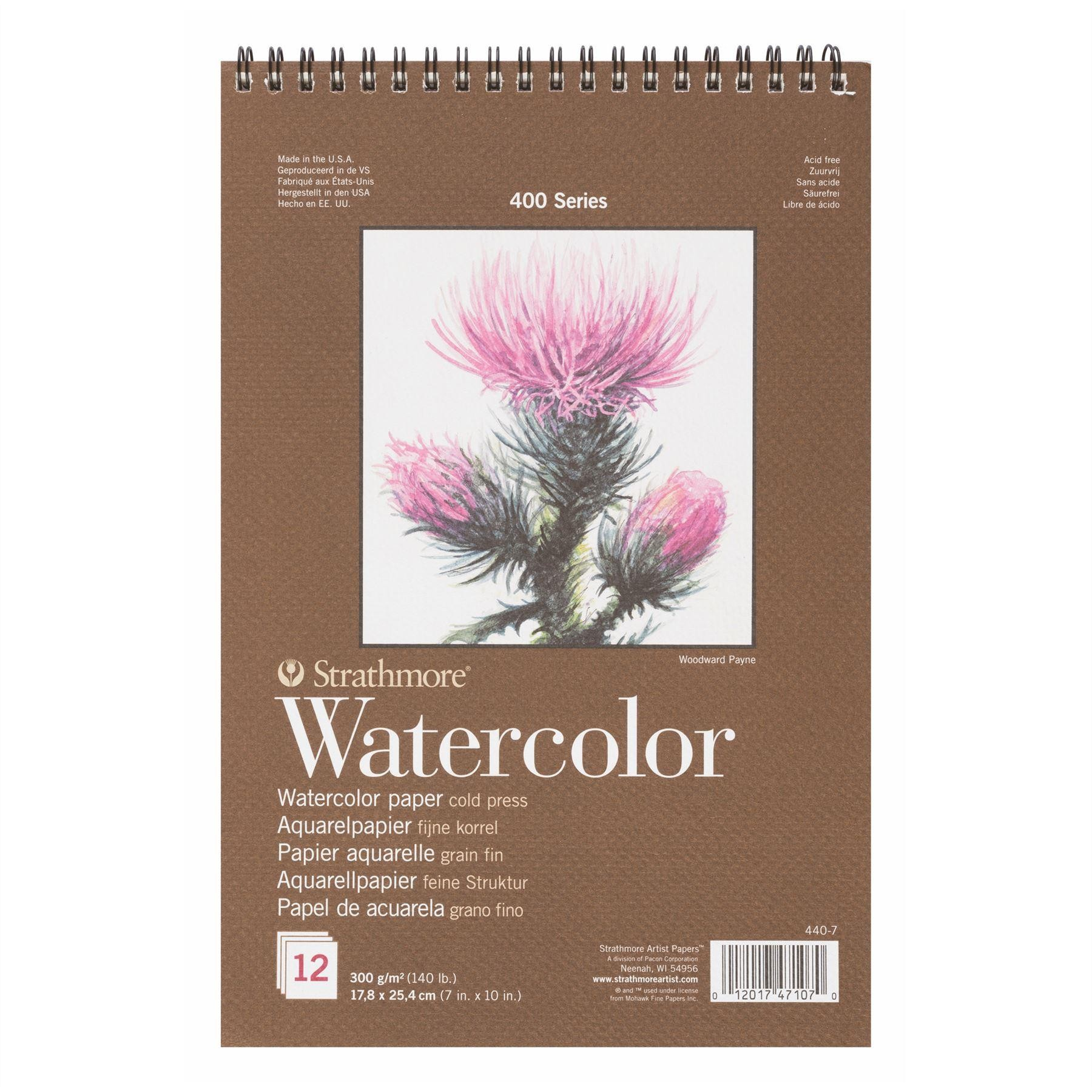 Strathmore 400 series Watercolour paper painting pad 300 GSM