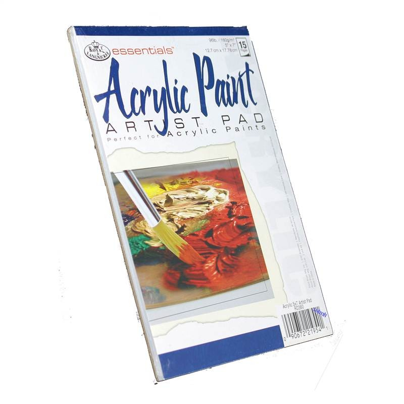 Royal and Langnickel Acrylic paint pad (15 pages)