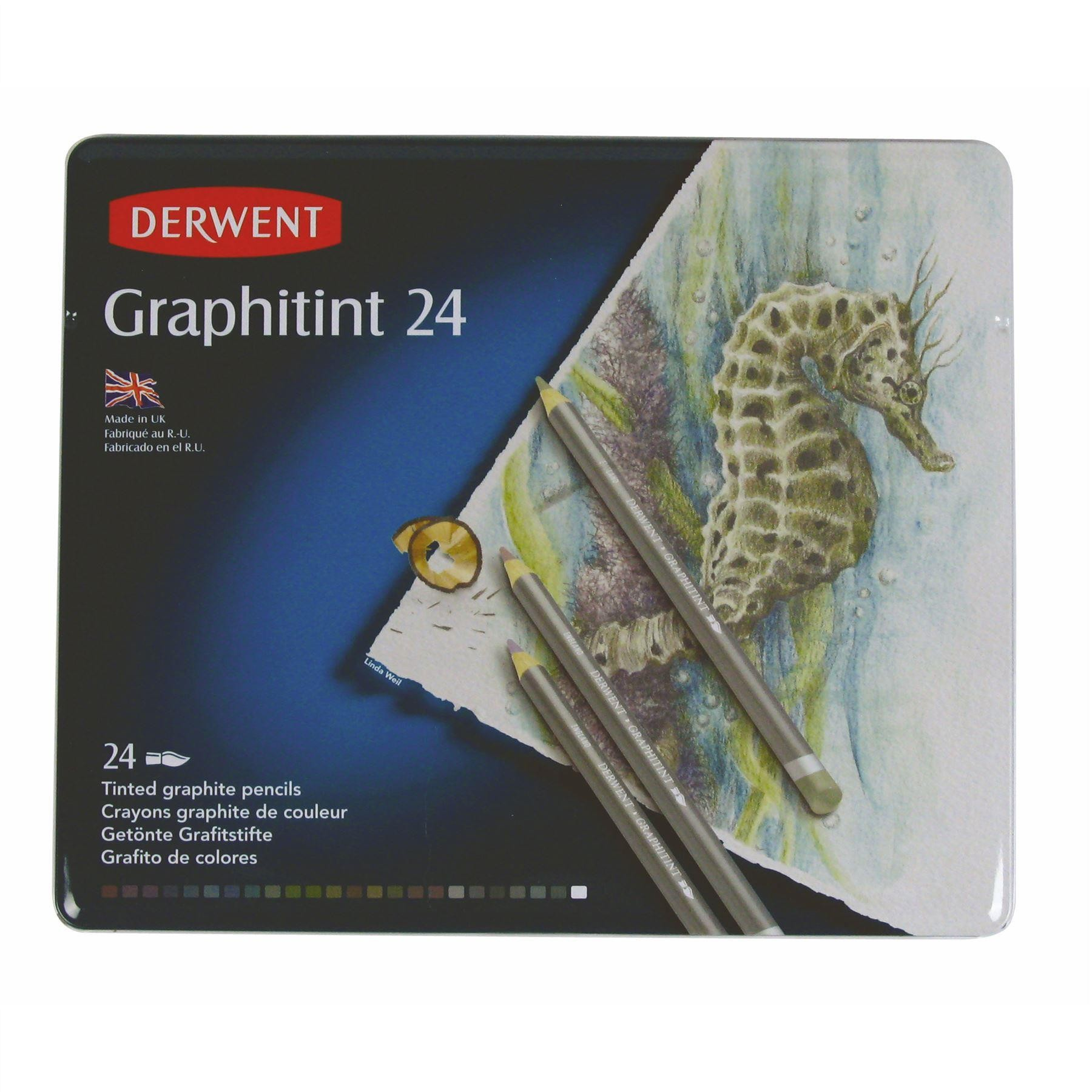 Derwent Graphitint 24 tin