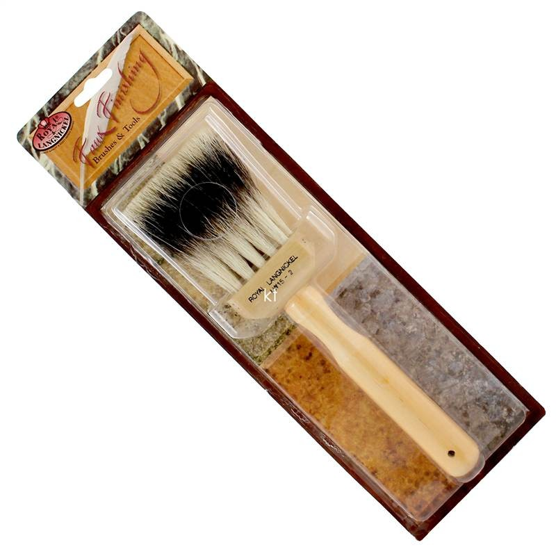 Royal & Langnickel 2 inch Badger, Faux Finishing Brushes - LW15-2