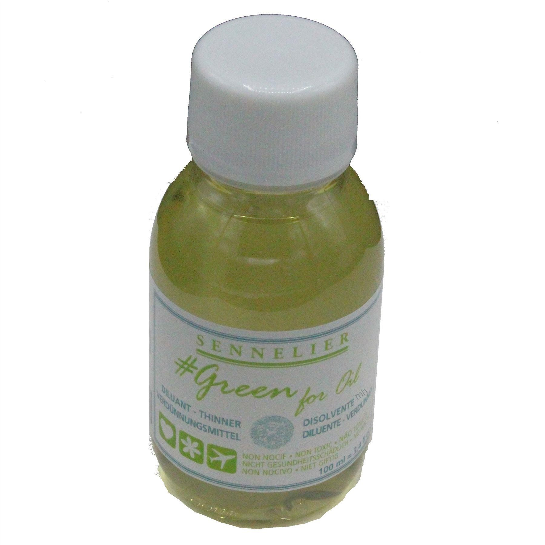 Sennelier Green for oil 100ml Thinner
