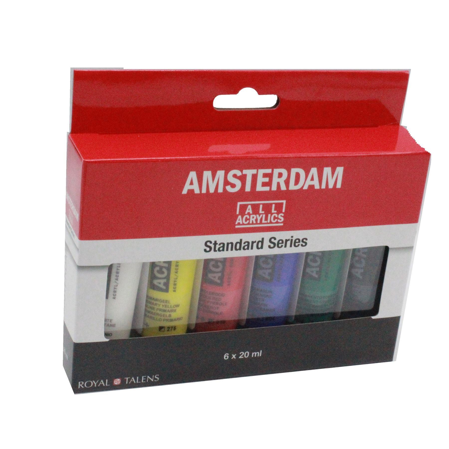 amsterdam acrylic color paint tubes