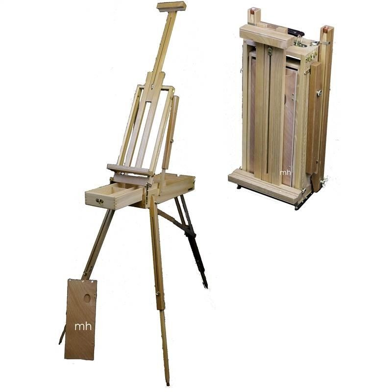Loxley Wiltshire half size lightweight sketching artists box easel.
