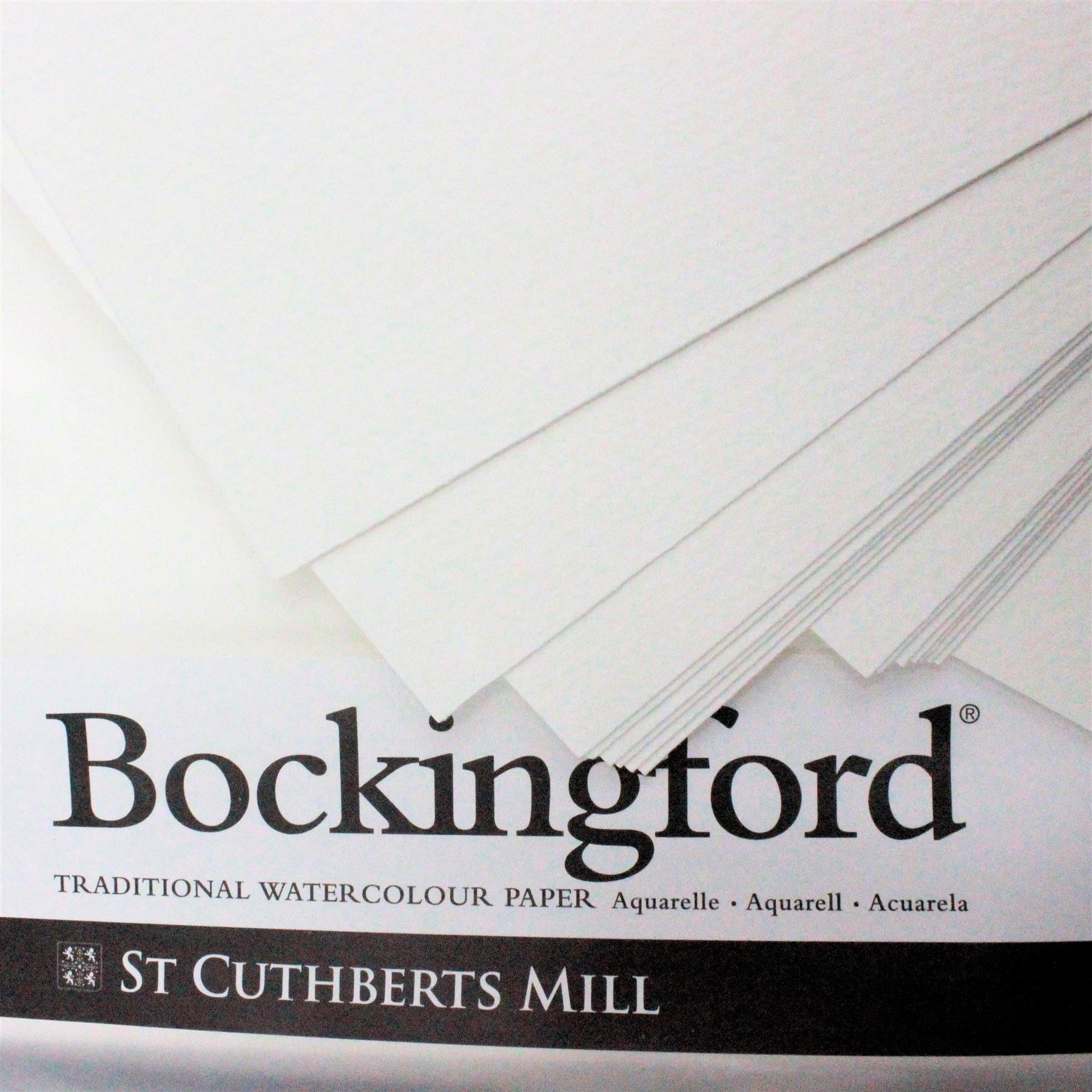 """Bockingford 2 sheets of 15"""" x 22"""" cold Press paper 535gsm (250lbs) Watercolour Paper"""