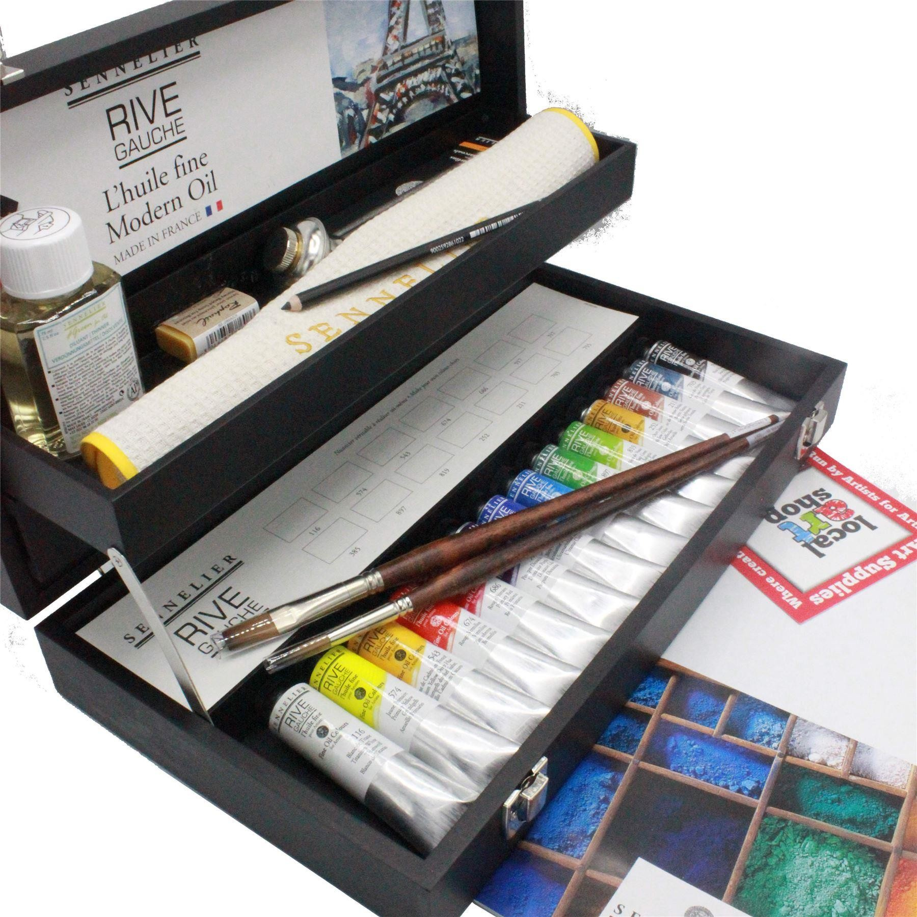 sennelier oil painter gift set ideal for students