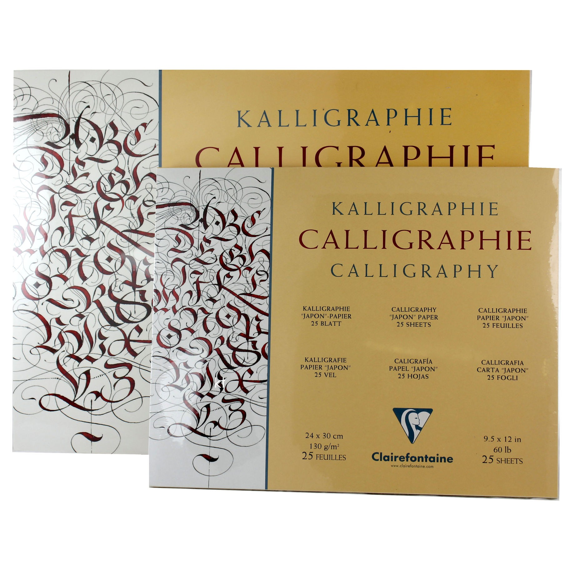 "Clairefontaine Calligraphy ""Japon"" Paper - 25 Sheets"