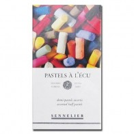 Sennelier Soft Pastels- Half Stick Set of 20 Assorted Colours
