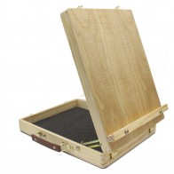 Daler Rowney simply wooden table top box easel