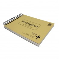 Bockingford watercolour hot pressed paper Fat Pad 25 Sheets A5 300gsm