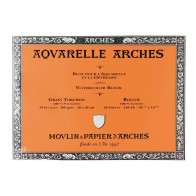 Aquarelle Arches Watercolour Block Rough - 20 Sheets - 26x36cm