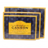 Canson L'Aquarelle Heritage Cold Press Watercolour Block 300gsm paper 20 sheets