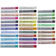 Faber Castell, Assorted Soft Pastel Sticks - Single Colour Crayons