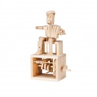 Timberkits Accordion Player flatpack kit