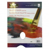 "Palette Paper Suitable For Oils And Acrylics 9""x12"" 40 sheets"