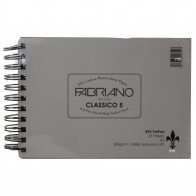 RKB Fat Pad A5 Fabriano 5 Hot Press 300gsm (140lb) 25 Sheets Watercolour Pad