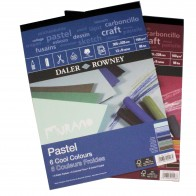 "Daler Rowney Murano pad cool neutral or warm 12"" x 9"" soft pastel paper pads"