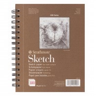 Strathmore 400 Sketch Pad - 100 Sheets of 89gsm Paper