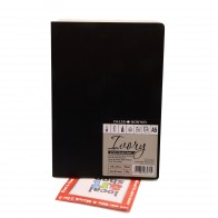 Daler Rowney Ebony Ivory soft cover sketch book portrait A6 pad