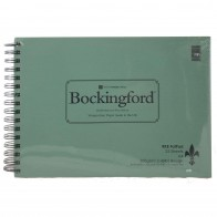 RKB Fat Pad Watercolour Paper Bockingford Rough 25 Sheets A4 300gsm