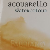 "4 Fabriano Artistico 15""x11"" 200gsm Cold Pressed watercolour paper sheet"