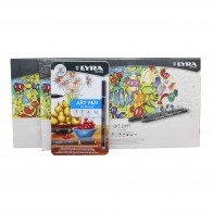 Lyra art pen high quality fibre tip pen for drawing. Assorted colours 10, 30, 50 tin sets