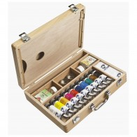 Royal Talens Van Gogh Oil paint 10 x 40ml Colour  wooden Box Basic