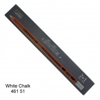 Cretacolor White Chalk - pastel Pencil Soft 2+1