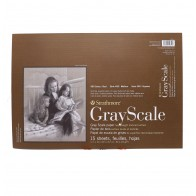 """Strathmore 400 tone GREY scale 12"""" x 18"""" 80lbs (216gsm )15 sheets"""