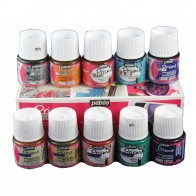 Pebeo Fantasy Prisme Paint Effect Discovery Set 10 x 45ml