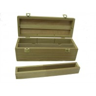 Loxley bamboo artist's storage box