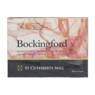"Bockingford Watercolour Paper Gummed Pad 12 Sheets 7"" x 5"" Hot Press"