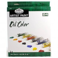 Royal & Langnickel Artist Paint 24 Pc Set - Oil Colour
