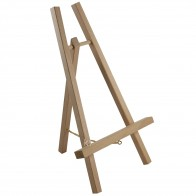 Loxley Small Wooden Cheshire Display Easel Lightweight